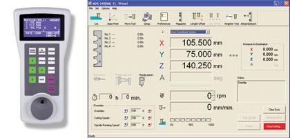 выносной пульт управления MDX-540S и экранная панель